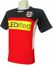 St Kilda Saints Red Training Shirt 'Select Size' S-3XL BNWT4