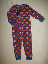 Boys Superman Onesie   3-4yrs 5-6yrs 7-8yrs 9-10yrs NEW ideal for Christmas SALE