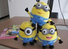 DESPICABLE ME SOFT TOY IN PLUSH MINIONS DAVE AND FRIENDS Stewart 3D Gift Doll