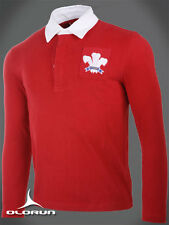 Olorun Authentic Rugby Classic Vintage Welsh Shirt (S-4XL)