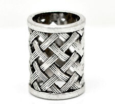 Wholesale Lots Silver Tone Bail Beads for Wrap Scarf (Hole Size:17mm)