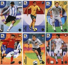 PANINI WORLD CUP 2010 PREMIUM FOOTBALL CARDS 37 - 96 NEW METALLIZED ULTRAS ETC