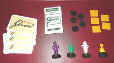 Spare/replacement parts for Junior Cluedo1993  various available: CHOOSE:-