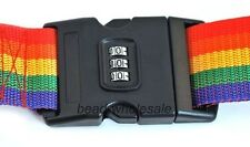 High Quality 3-Digit Passwords Combination Lock Luggage Backpack Strap Band Belt