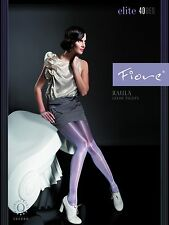 Fiore Raula 40D Glossy TIGHTS from Europe Hosiery Pantyhose Leggings Stockings