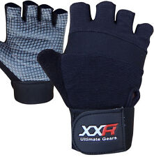 XXR TeX Weight Lifting Gloves Strengthen Training Fitness Gym Exercise Workout