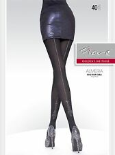 European Luxurious Back Seam 40D TIGHTS from Fiore ALMERIA Leggings Stockings