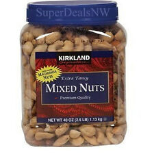 2.5 Pounds(40oz)~FANCY MIXED NUTS~Cashew Pecan Almond Brazil Macadamia FREE SHIP