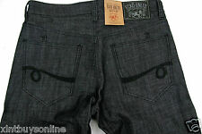 ECKO UNLTD Jeans  714 Straight Fit  Raw Coastal Wash Holiday 12