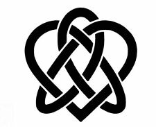 CELTIC HEART KNOT Paint Stencil, Genuine Mylar Re-Useable A3 & A4