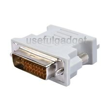 DVI-I Dual Link 24+5 Male to VGA Female Adapter wholesale Lots