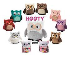 Intelex Hooty Owl Fully Microwavable Lavender Scent Plush Heatable Bedtime Toys