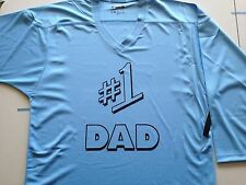 #1 DAD Custom Hockey Jersey 4 Father's Day **NAME AND NUMBER ON BACK** Seinfeld
