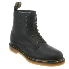 Men's Dr Martens 1460 8 Eye LaceUp Boot Black Greasy R11822003