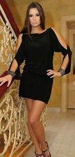 New Ladies Cocktail Party Evening Wedding Formal Prom Mini Dress UK  Size 8 - 22