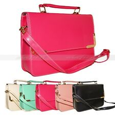 Korean Messenger Square Satchel Totes Women Shoulder Crossbody Handbag Bag