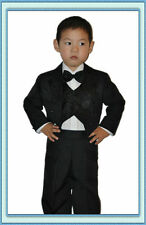 Children Suit / Baby Suit Communion Wedding 5 Piece Black Gr.74 to 98