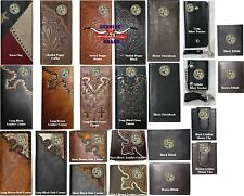 Texas Bass Fisherman Genuine Hand Tooled Leather Wallet, Montana West Fishing