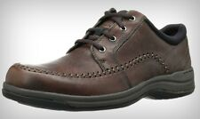 New Clarks Portland2 Tie Brown Leather Men's Oxford Casual Shoes 66038