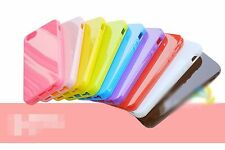 1PC Iphone Apple 5 5S Silicone Gel TPU Jelly Rubber Phone Case Protector Cover