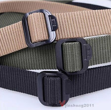 New Unisex Military Belt Tactical Rappelling Belt Waistband Three Color Choices