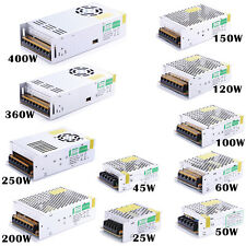 DC 12V 25W 50W 100W 200W 360W 400W Power Supply Transformer LED Driver Adapter