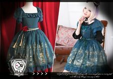 Goth aristocrat princess diary gilded cathedral Rose bride layered-look dress G