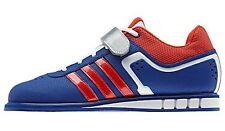 adidas Unisex Powerlift 2.0 Weightlifting Oly Shoes Prideink Red White Blue NEW