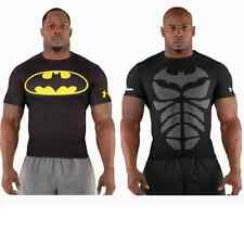 Under Armour BATMAN Alter Ego Compression Shirt   HeatGear Baselayer Super Hero