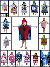 Kids  Ponchos Characters Themes Towels for Kids New designs - Super Soft Hooded