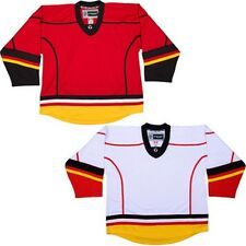 Customized Calgary Flames Hockey Jersey w/ NAME & NUMBER NHL Style Replica DJ300