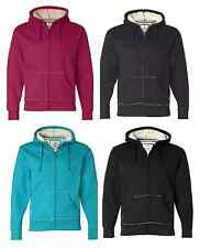 J. America - Full-Zip Hooded Thermal with Sherpa Lining - 8985 S-2XL