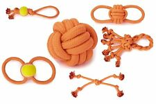 Ruff Rope Toy Collection for Dogs Extra Tough BIG Dog Toys Rope Ball Knot Tennis
