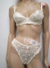 Mix&Match Size Beautifull Cream/IvoryTop Quality Bra/Brief (or Thong enquire)Set