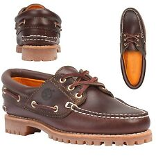Timberland Women's Heritage Noreen 3-Eye Handsewn Fox Brown Shoes 51304 USA