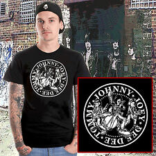 the ramones t.shirt american punk rock CBGB's joey johnny dee dee tommy hey ho