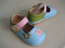 Baby girls toddler Tiny Squeak Fairy blue multicoloured squeaky shoes 3 4 5 6 UK