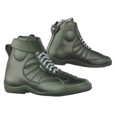 747-MOTO mens or womens, short motorbike motorcycle boots