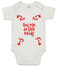 You can do this Daddy Funny Baby Girl Boy Bodysuit Baby grow Vest Father's Day