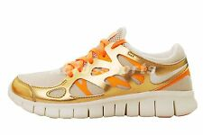 Nike Wmns Free Run 2 Premium EXT 5.0 Gold Womens Running Shoes Trainer