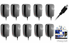 10 x New Micro USB AC Universal Battery Travel Home Wall Charger for Cell Phones