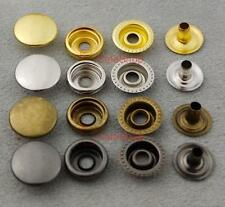 """25 50 100 sets Leather craft Rapid Rivet Button METAL Snaps Fasteners 15mm 5/8"""""""