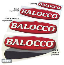 Balocco sponsor perforated, Serie A 2011-12, player issue