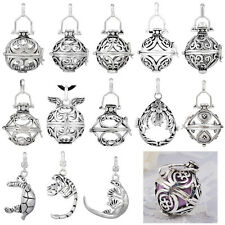 Antique Silver Cages pendant for 20MM harmony balls chime balls Styles Choose