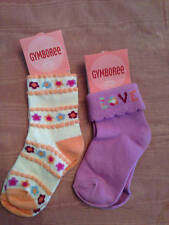 NWT Gymboree Snow Blossom Baby Girl Socks Love or Flowers 2-3 Years