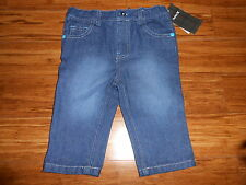 NWT Hurley Blue Jeans Pants Baby Boys 3 6 9 Months