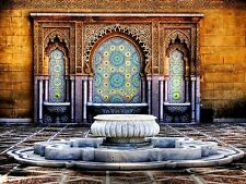 Tuscan Fountain personalized poster elegant wall art home decor made in USA