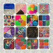 Wholesale Lot Rubber Bands Refill fit Rainbow Loom high quality 2014 NEW Style
