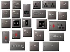 Switches and Sockets Many Finishes available super super cheap Prices!!!!!!!!!!