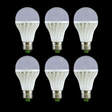 6PCS E26 E27 10W LED Lamp Bulb White Warm Light Energy Saving Bright AC85V-260V